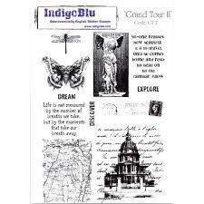 Indigo Blu Stamp Set - Grand Tour II