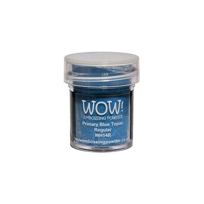 WOW! Embossing Powder - Primary Blue Topaz