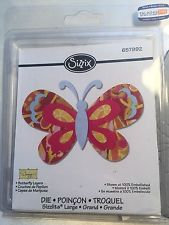 Sizzix Die - Butterfly Layers