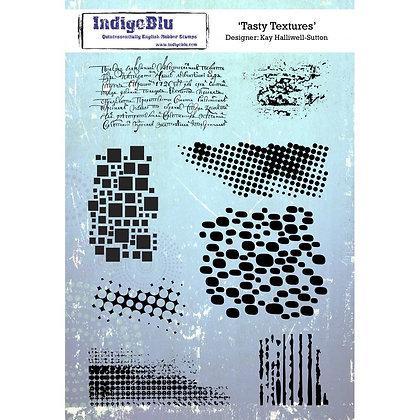 Indigo Blu Stamp Set - Tasty Textures