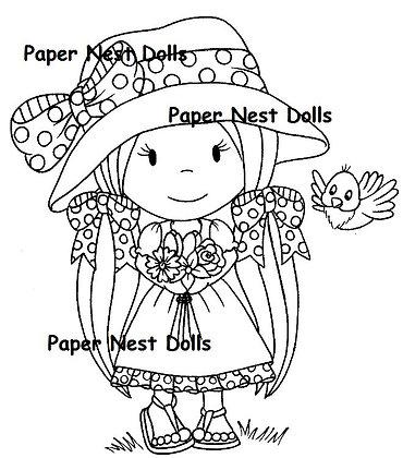 Paper Nest Dolls - Little Birdie Avery