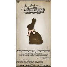 Tim Holtz Alterations Die - Bunny with Bow
