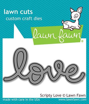 Lawn Fawn Die - Love