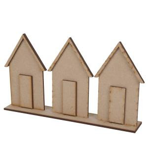 Creative Expressions MDF - By the Sea Beach Huts