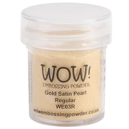 WOW! Embossing Powder - Gold Satin Pearl