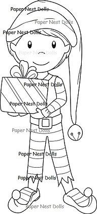 Paper Nest Dolls - Elf Owen