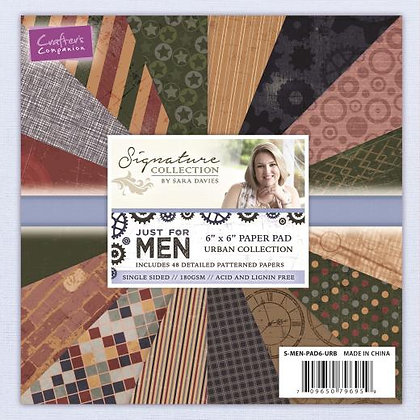 Just For Men Paper Pad - Urban Collection