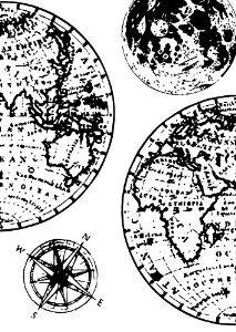 Dali Art Stamp Set - Globes