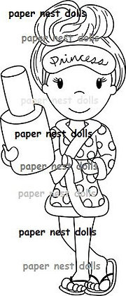 Paper Nest Dolls - Spa Day Ellie