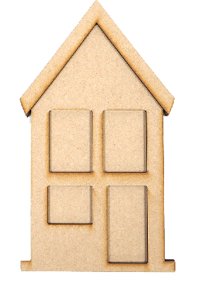 Creative Expressions MDF - Town House
