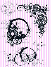 Vilda stamps - Steampunk Winter A6 Kit