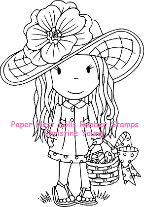 Paper Nest Dolls - Easter Bonnet Avery