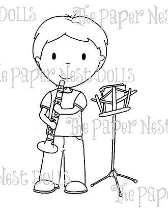 Paper Nest Dolls - Clarinet Steven