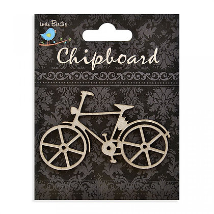 Little Birdie Chipboard  - Bicycle