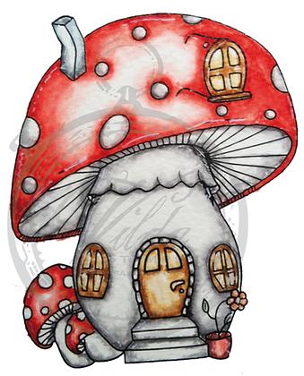 Vilda - Dotted Mushroom Cottage