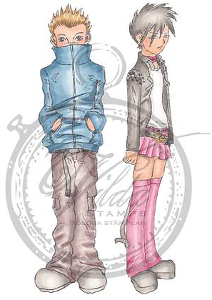 Vilda - Boy With Hands In Pocket And Girl
