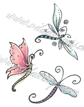 Vilda - Three Dragonflies