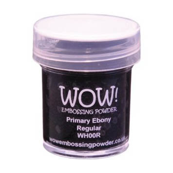 WOW! Embossing Powder - Primary Ebony