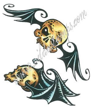 Vilda - Skulls With Wings