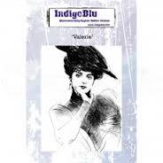 Indigo Blu Stamp - Valerie