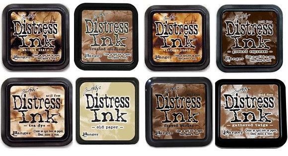 Tim Holtz Distress Ink - Browns