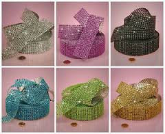 8 Row Diamond Mesh Ribbon