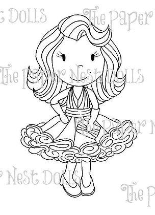 Paper Nest Dolls - Miss Hollywood