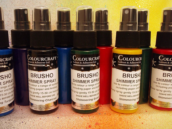 Brusho - Acrylic Shimmer Spray 60ml