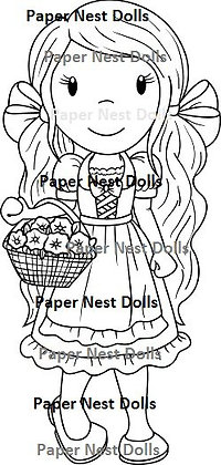 Paper Nest Dolls - Country Fashion Doll