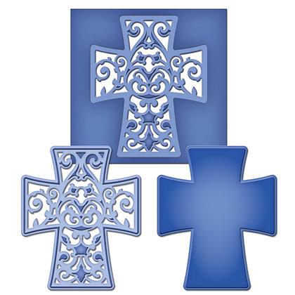 Spellbinders Dies - Filigree Cross