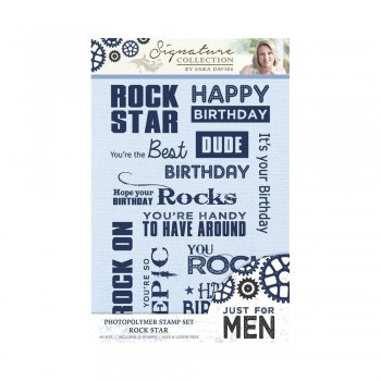 Just For Men Stamp Set - Rock Star