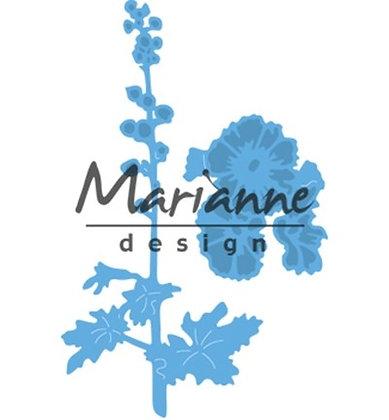 Marianne Die - Tiny Hollyhocks