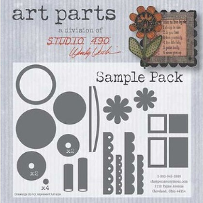 Studio 490 Art Parts Kit - Sample Pack