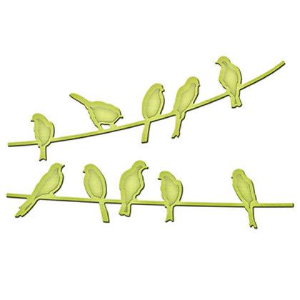 Spellbinders Dies - Birds on a Wire