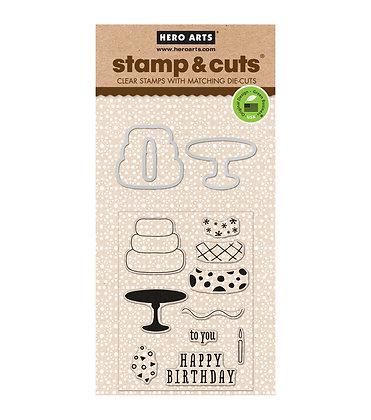 Hero Arts Stamp And Cut - Birthday