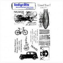 Indigo Blu Stamp Set - Grand Tour I
