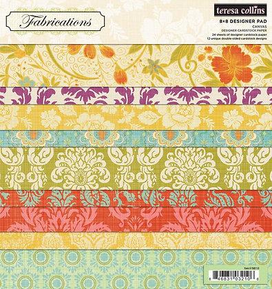 Teresa Collins Paper Pad - 6x6 - Fabrications Canvas