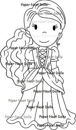 Paper Nest Dolls - Princess Savannah