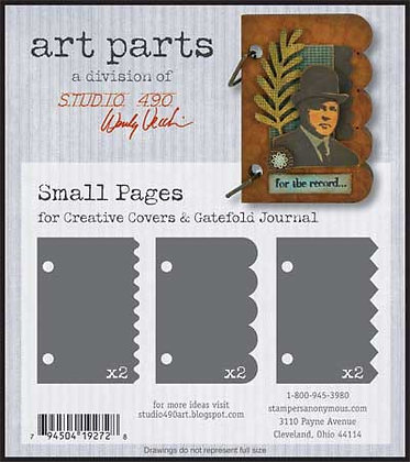 Studio 490 Art Parts Kit - Small Pages
