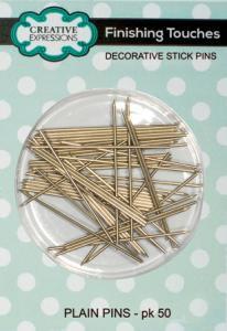 Creative Expressions - Plain Pins