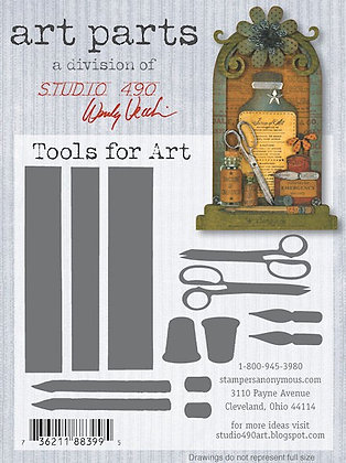 Studio 490 Art Parts Kit - Tools for Art