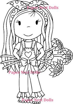 Paper Nest Dolls - Sunflower Avery