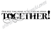 Vilda - Our Best Time Spent Is The Time We Spend Together
