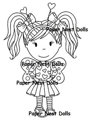 Paper Nest Dolls - Love Bug Emma