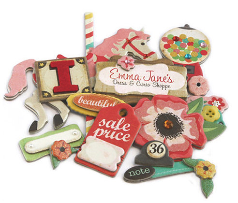 Crate Paper Layered Chipboard - Emma's Shoppe