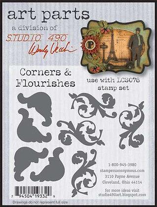 Studio 490 Art Parts Kit - Corners & Flourishes