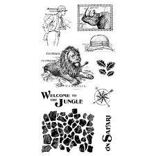 Graphic 45 Stamp Set - Safari Adventure 3