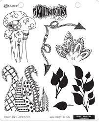 Dylusions Stamp Set - Doodle Parts