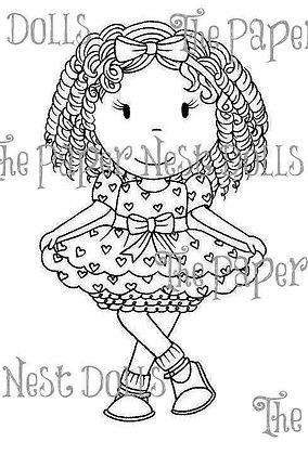 Paper Nest Dolls - Little Miss Hollywood