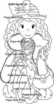 Paper Nest Dolls - Dress Up Avery